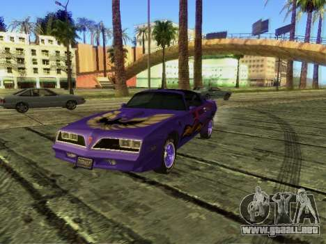 Pontiac Firebird Overhaulin para GTA San Andreas