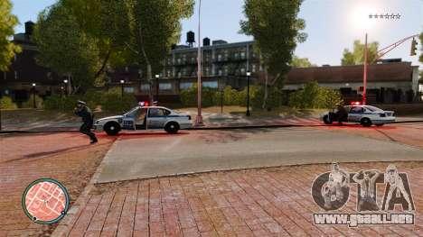 Sin policía guiones para GTA 4 tercera pantalla
