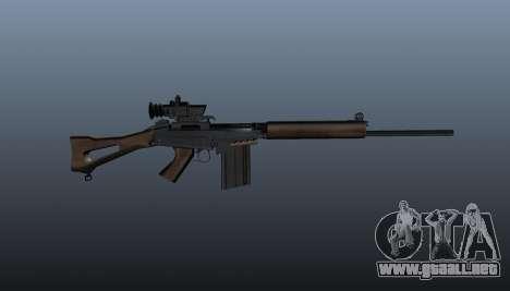 Rifle de francotirador FN FAL para GTA 4 tercera pantalla