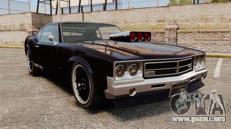 La nueva versión del Sabre GT para GTA 4