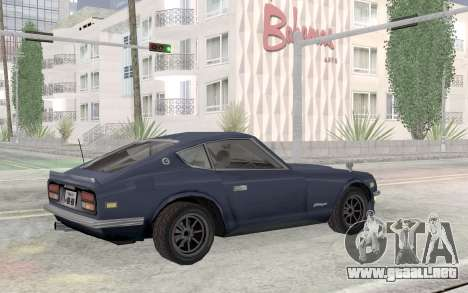 Nissan Fairlady Z AKUMA para visión interna GTA San Andreas