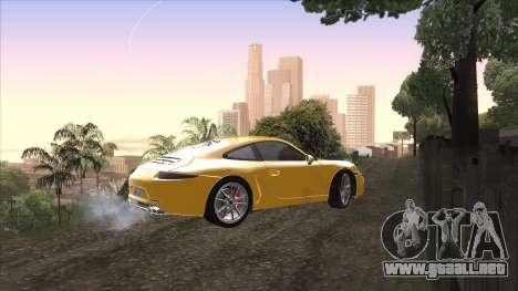 ENB para PC de OlliTviks para GTA San Andreas sucesivamente de pantalla