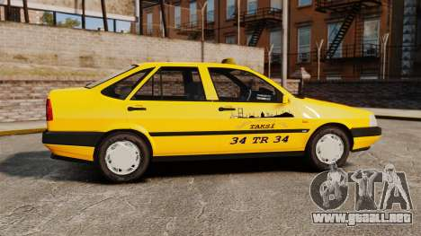 Fiat Tempra SX.A Turkish Taxi para GTA 4 left