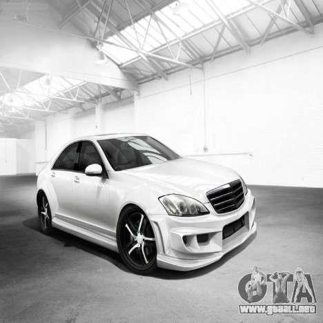 Pantallas de carga Mercedes-Benz para GTA 4 séptima pantalla