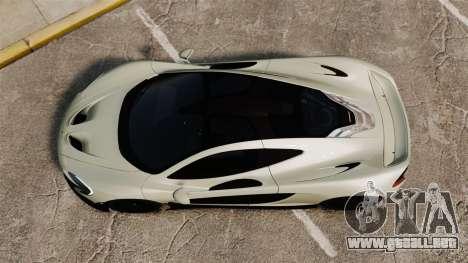 McLaren P1 [EPM] para GTA 4 visión correcta