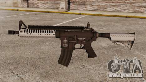 Automático carabina M4 VLTOR v5 para GTA 4 tercera pantalla