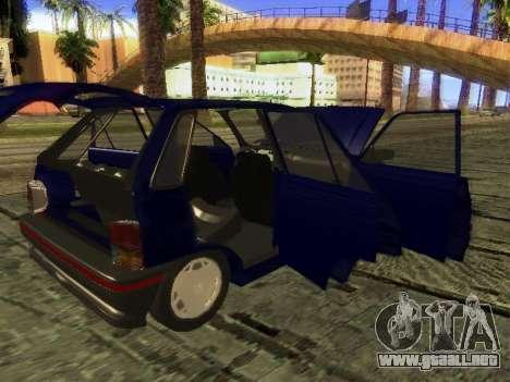 Kia Pride Hatchback para la vista superior GTA San Andreas