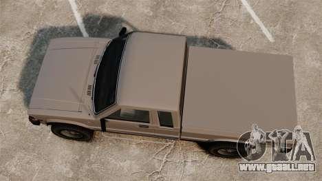 Karin Rebel 4x4 para GTA 4 visión correcta