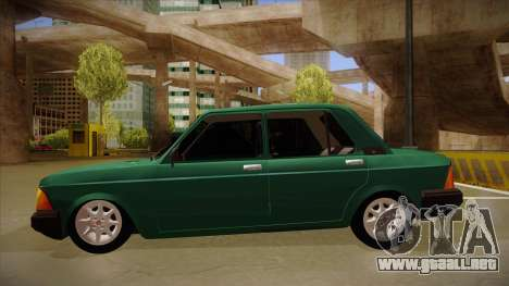 Fiat 128 Super Europa para GTA San Andreas vista posterior izquierda