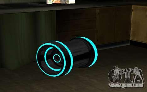 Blaster para GTA San Andreas segunda pantalla