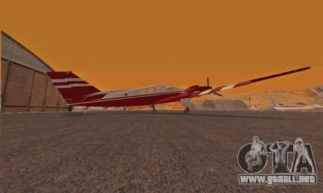Rustler GTA V para GTA San Andreas vista posterior izquierda