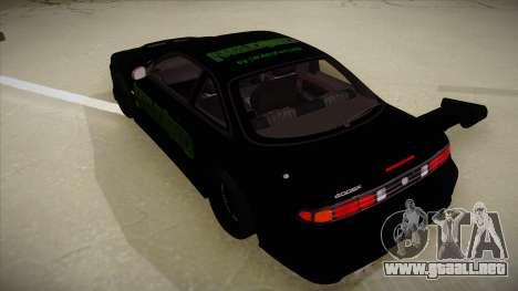 Nissan s14 200sx [WAD]HD para GTA San Andreas vista hacia atrás