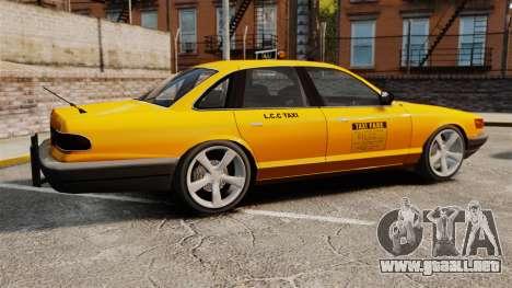 Taxi nuevo CD para GTA 4 left