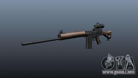 Rifle de francotirador FN FAL para GTA 4
