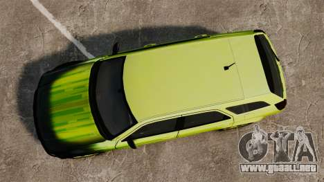 Dodge Magnum West Coast Customs para GTA 4 visión correcta