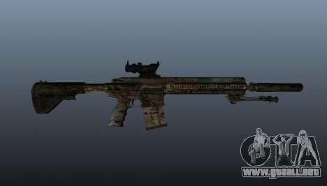 HK417 rifle v2 para GTA 4 tercera pantalla