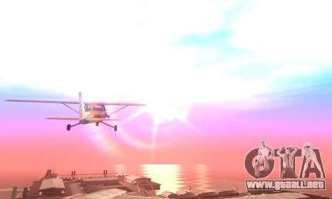 Formal ENB by HA v1.0.0 para GTA San Andreas sucesivamente de pantalla