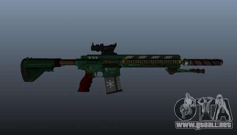 HK417 rifle v3 para GTA 4 tercera pantalla