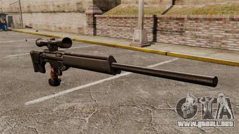 HK PSG10 rifle de francotirador para GTA 4