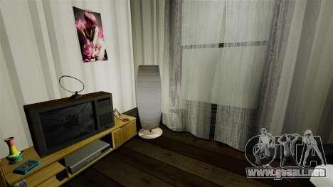 Apartamento elegante Bokhan para GTA 4 adelante de pantalla