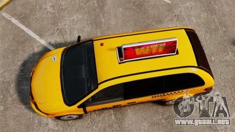 Dodge Grand Caravan 2005 Taxi LC para GTA 4 visión correcta
