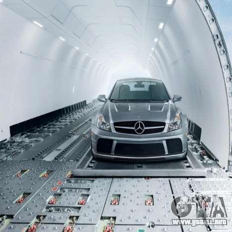 Pantallas de carga Mercedes-Benz para GTA 4 tercera pantalla