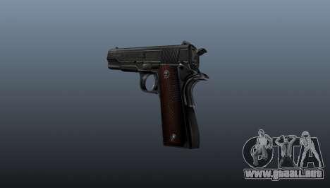 Pistola M1911 v4 para GTA 4 segundos de pantalla