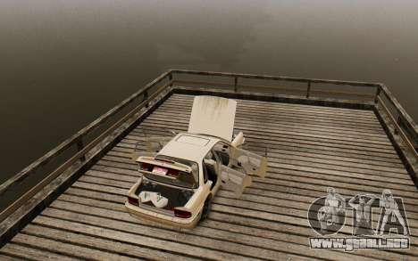 Mitsubishi Galant V2 para GTA 4 vista hacia atrás