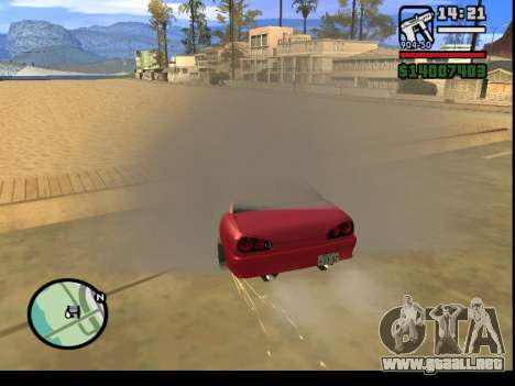 GTA V to SA: Burnout RRMS Edition para GTA San Andreas décimo de pantalla