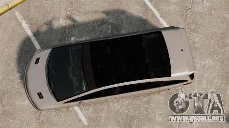 Dinka Honda Odyssey JDM Version para GTA 4 visión correcta