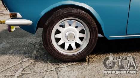 Volga GAZ-2410 v3 para GTA 4 vista hacia atrás