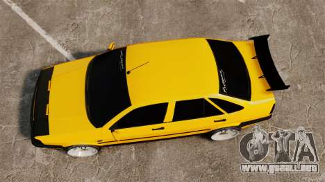 Fiat Tempra TR KeremAkca Edit para GTA 4 visión correcta