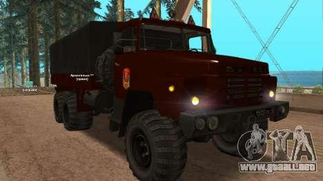 Camión autoescuela v. 2.0 para GTA San Andreas left