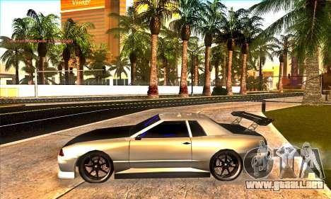 Elegy Drift Concept para la vista superior GTA San Andreas