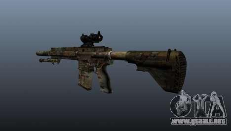 HK417 rifle v2 para GTA 4 segundos de pantalla