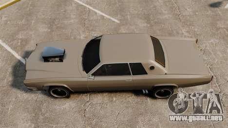 Nuevo Bucanero v2 para GTA 4 Vista posterior izquierda