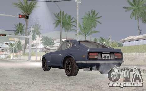 Nissan Fairlady Z AKUMA para GTA San Andreas vista posterior izquierda