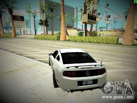 ENBSeries By DjBeast V2 para GTA San Andreas quinta pantalla