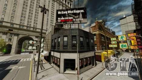 Tiendas de Chinatown para GTA 4 octavo de pantalla
