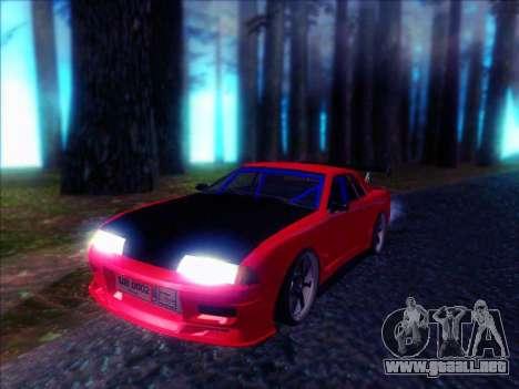 Elegy Drift Concept para GTA San Andreas vista posterior izquierda