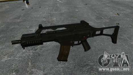 HK G36C asalto rifle v1 para GTA 4 tercera pantalla