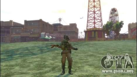 Un soldado ruso v3.0 para GTA 4 quinta pantalla