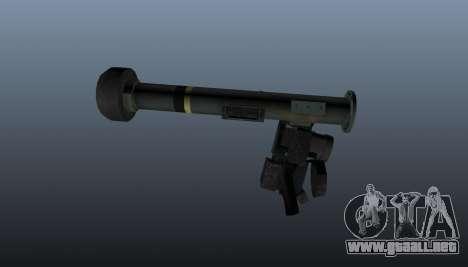 FGM-148 Dževlin para GTA 4 tercera pantalla