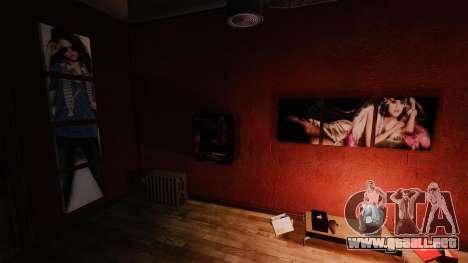 Nuevos carteles en el apartamento de Playboy X para GTA 4