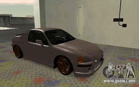 Honda CRX DelSol TMC para GTA San Andreas left
