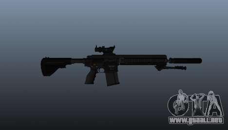 HK417 rifle v1 para GTA 4 tercera pantalla