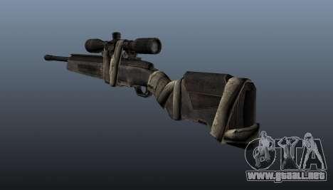 Rifle de Sniper Steyr Elite para GTA 4 segundos de pantalla