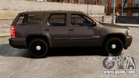 Chevrolet Tahoe Slicktop [ELS] v2 para GTA 4 left