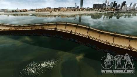 Puentes levadizos para GTA 4 adelante de pantalla