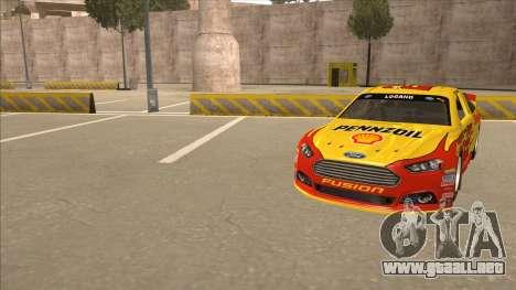 Ford Fusion NASCAR No. 22 Shell Pennzoil para GTA San Andreas